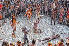 Kumbh Mela festival, Uttar Pradesh, 2013