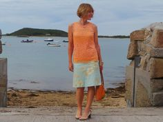 Anna's Island Style: Applique and lace