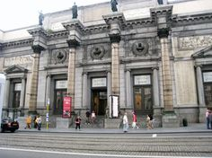 Royal Museums of Fine Arts of Belgium (Musees Royaux des Beaux Arts). #Neverhaveiever seen original surrealist art there. Would love to go.