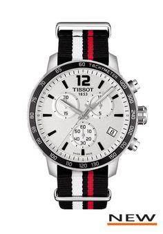 Tissot Quickster 42mm staal zwart/wit/rode nato band (T095.417.17.037.01) bekijk onze collectie Tissot. ✔ Gratis verzending ✔ Uit voorraad leverbaar