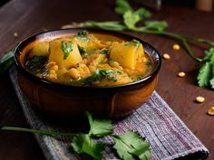 Gojee - Potato and Yellow Split Pea Curry by Spicie Foodie