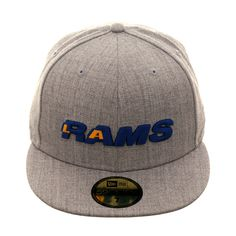best website ce8b4 677d5 Exclusive New Era 59Fifty Los Angeles Rams 1984 Word Hat - Heather Gray,    39.99