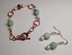 A personal favorite from my Etsy shop https://www.etsy.com/listing/252201353/genuine-copper-freshwater-pearl-and