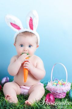 Easter Baby Pic!