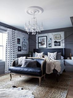 Create your oasis by pairing complimentary colored furnishings. Find this chandelier at https://aadenlighting.com/catalogsearch/result/?cat=&q=Crystorama%2B5008. #BedroomChandelier