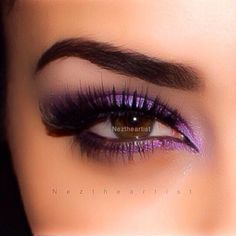 "Shadow ""grape"" "" violet"" lashes by @Allison j.d.m j.d.m j.d.m House of Lashes #noirfairy"