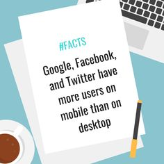 Mobile is the present and the future. Mobile is the dominant force in tech today, and it is getting stronger as time goes by. Strong Feelings, History Facts, Digital Marketing, Web Design, Internet, Social Media, Blog, Tech, Future