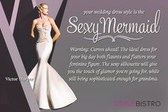 My wedding gown should be a Sexy Mermaid. Which style is for you?null - Quiz