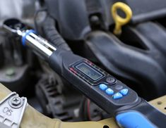 How to use a digital torque angle wrench Torque Wrench, Being Used, Angles, Personalized Items, Digital