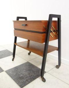 60's sewing box