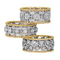 1stdibs - BUCCELLATI  HANDMADE DIAMOND BANDS explore items from 1,700  global dealers at 1stdibs.com