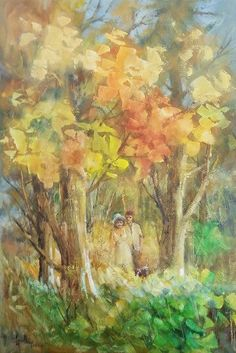 """""""The Glow of Autumn"""". This piece will be on display at my exhibition on 6-8 March 2015. You can view this and other work at www.wallacehulley.com    #art #Painting #oil #exhibition #capetown #events 8th Of March, Cape Town, Glow, Events, Oil, Display, Autumn, Artwork, Nature"""