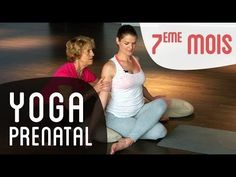 Yoga Fitness Flat Belly Yoga Prénatal mois de grossesse - avec le Dr Bernadette De Gasquet - There are many alternatives to get a flat stomach and among them are various yoga poses. Yoga Prenatal, Prenatal Workout, Pregnancy Workout, 7 Month Of Pregnancy, Happy Pregnancy, Yoga Fitness, Yoga Session, Yoga Poses, Pränatales Training