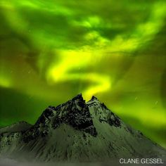 "#WhatsYourNature photo contest: ""Waiting in the still of the frozen night for this photo,"" says Clane Gessel (@clanegessel) of his image from Iceland this year. ""The northern lights danced all around and finally came out of the middle like I wanted at 3 a.m."" Enter our contest by clicking the link in the header. Share your nature with the world. . #nature #livenature #adventure"