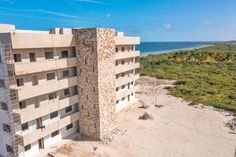 Stunning beach condos for sale in Yucatan, Mexico from $169,900.  Located outside Merida, Yucatan.  #mexico #beach #construction #property #forsale #realestate #beachhouse #ocean #design #yucatanrealestate #yucatanbeachproperty #meridayucatan Beach Village, Ocean Front Property, Living In Mexico, Beach Properties, Rooftop Terrace, Beach Condo, Us Beaches, Condos For Sale, White Sand Beach