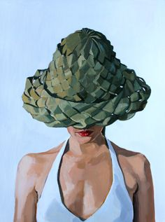 "Self Portrait. Oil on birch panel. 18""x24"". 2013Price upon request"