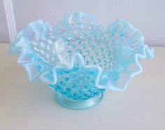 Hobnail Milk Glass by Fenton