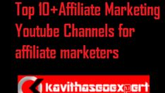 Top 10+Affiliate Marketing Youtube Channels for affiliate marketers★kavithaseoexpert★ Marketing Guru, Digital Marketing Trends, Marketing Tactics, Marketing Training, Business Marketing, Affiliate Marketing, Internet Marketing, Online Marketing, Program Management