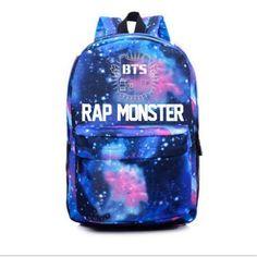 2016 Brand Bag Fashion Laptop Backpack Printing BTS School Bags For Teenagers Ca. 2016 Brand Bag Fashion Laptop Backpack Printing BTS School Bags For Teenagers Canvas Men Out door Travel Rucksack Mo Bts Backpack, Galaxy Backpack, Shoulder Backpack, Backpack Bags, Fashion Backpack, Shoulder Bag, Canvas Backpack, Shoulder Straps, Mochila Kpop