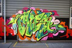 Bates by phluids Graffiti Piece, Graffiti Words, Graffiti Tagging, Graffiti Artwork, Graffiti Alphabet, Graffiti Lettering, Graffiti Wall, Street Art Graffiti, Graffiti Artists