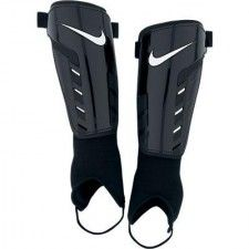 Colour -   Black / White Attached Ankle Protection Velcro Straps Adult Sizes