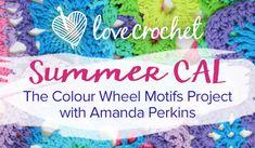 Amanda Perkins Summer CAL on the LoveCrochet blog