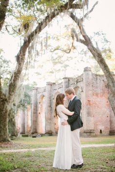 Beaufort Weddings – Old Sheldon Church Ruins – Taken by Sarah Photography – Lowcountry Wedding Venue outside of Hilton Head, South Carolina
