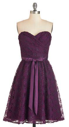 Pretty Plum Dress
