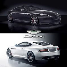 Aston Martin Unveils the DB9 Carbon Black and Carbon White