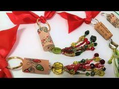 (9) Wine Cork Key Chains/Ornament/Gift Idea! - YouTube