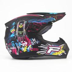 Adult Motorcycle Helmet + Bonus DDot Approved Several Designs to Choose