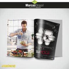 Anúncio – Sinhá Moça > Desenvolvimento de Anúncio para divulgação dos produtos para cozinha da loja Sinhá Moça < #aúncio #marcasbrasil #agenciamkt #publicidadeamericana