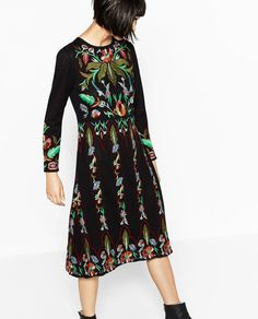 LIMITED EDITION FLORAL EMBROIDERED DRESS-DRESSES-WOMAN   ZARA United States