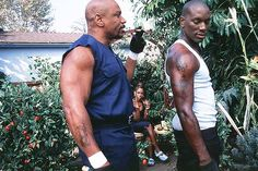 Ving Rhames and Tyrese Gibson - Baby Boy Ving Rhames Movies, Baby Boy Movie, African American Movies, Cult Movies, Films, Movies Worth Watching, Hip Hop Rap, Fine Men, That Way