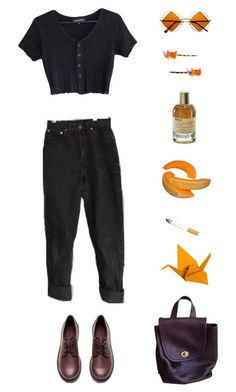 """""""and i do appreciate you being 'round"""" by origami-kitten ❤ liked on Polyvore featuring Le Labo, Retrò, Forum, H&M, cutekawaii and Coach"""