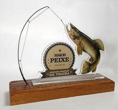 trofeu okappari | por Vanderlei Godoy #Trophy #trofeu #pesca #fish #fishing #wood