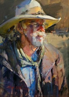 """Whistle Pik Galleries - """"Feeling the Warmth"""" by John Cook"""