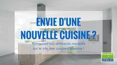 Envie d'une nouvelle cuisine ? Découvrez nos différents modèles directement sur le site ! http://cuisines-maxima.com/cuisines/
