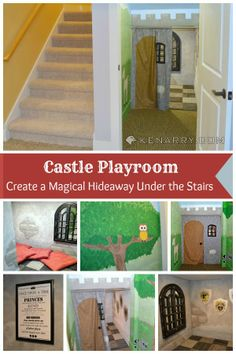 Castle Playroom: Create a Magical Hideaway Under the Stairs for Kids - Kenarry.com