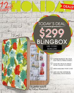 12 Days of Holiday Deals! Day 7: $299 BlingBoxes ($100 savings!)