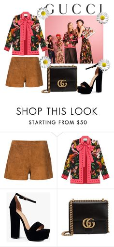 """""""Presenting the Gucci Garden Exclusive Collection: Contest Entry"""" by emeraldz on Polyvore featuring Gucci, rag & bone, Boohoo and gucci"""