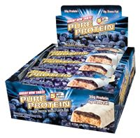Pure Protein Blueberry Crumb Cake by Worldwide Sport - Buy Pure Protein Blueberry Crumb Cake 12 Bars at the Vitamin Shoppe