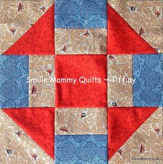 Country themed block ~ Smilie Mommy Quilts: Most Recent Blocks for IQBS ~ International Quilt Block Swap