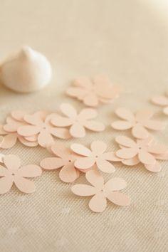 confettis champetre/ flowers confettis  http://atmospheremariages.fr/898-3092-thickbox/confettis-fleurs.jpg