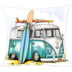 A Almofada Digital Kombi é uma ótima opção na decoração, ficam perfeitas sobre os sofás, poltronas, camas e até mesmo no chão em cima de um tapete. Confira em nosso site as mais belas Almofadas de Kombi da internet!