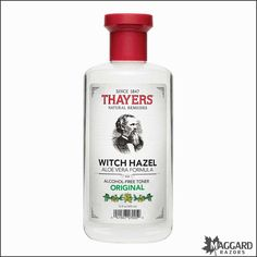Thayers Alcohol-Free Original Witch Hazel Toner | Maggard Razors - Straight Razor Restoration, Custom Scales and Wet Shaving Products