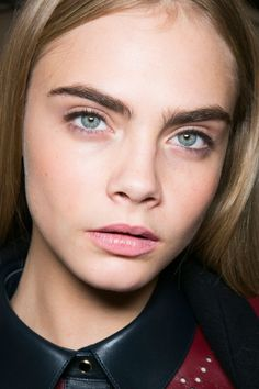 Cara at Tommy Hilfiger Fall 2013.
