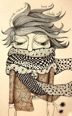 Wrap me, warm me, hug me, choke me - Anna Kontonikola