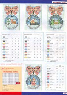Вышиваем елочные игрушки — схема вышивок к Новому году | Мой Милый Дом - хенд мейд идеи рукоделия и дизайна
