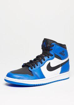 check out 9a8f8 f4309 JORDAN Basketballschuh Air Jordan 1 Retro High soar blue black white